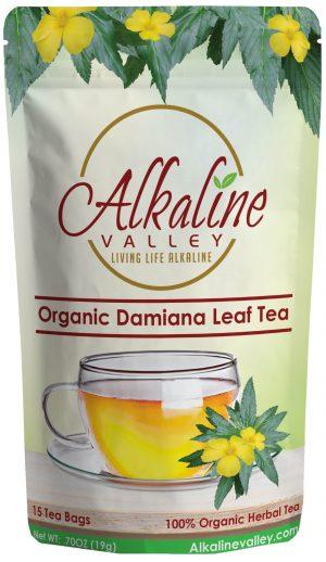 Organic Damiana Leaf Tea (15 Tea Bags)