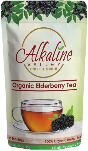 Organic Elderberry Tea (15 Tea Bags)