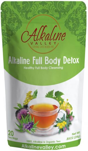 Alkaline Full Body Detox Tea (20 Tea Bags)