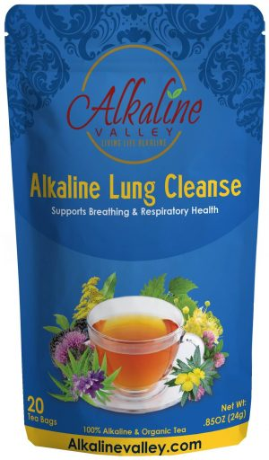 Alkaline Lung Cleanse Tea (20 Tea Bags)