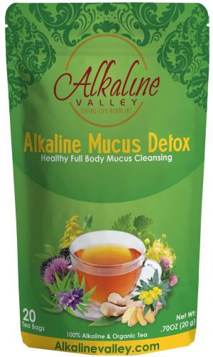 Alkaline Mucus Detox Tea (20 Tea Bags)