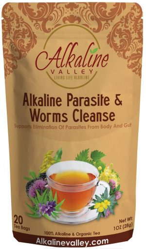 Alkaline Parasites And Worms Cleanse Tea (20 Tea Bags)