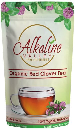 Organic Red Clover Tea (15 Tea Bags)