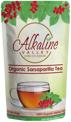Organic Sarsaparilla Root Tea (15 Tea Bags)